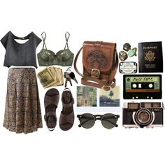 Adventure Is Out There. by hippierose on Polyvore
