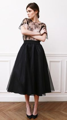 Love this skirt, makes a nice change from the cocktail dress.