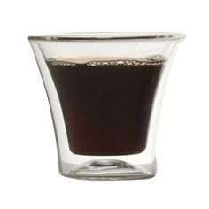 Eurojo Espresso Glass Set Of 4, $28, now featured on Fab.