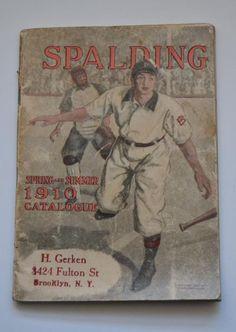 e17fa81309d0 Spalding 1910 Spring and Summer. (Colección particular Pablo Gines)