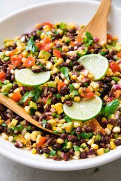 Black Bean & Corn Salad (Quick + Easy Recipe) - The Simple Veganista