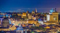 Gianicolo Hill View of Rome