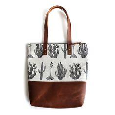 Amelie Mancini Carry All Tote Bag - Cactus - The Future Kept - 1