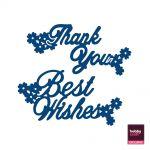 Interlocking Thank You & Best Wishes (D043) http://www.tatteredlace.co.uk/range/dies/