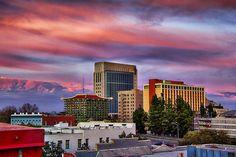 Downtown Sunset, Sacramento CA