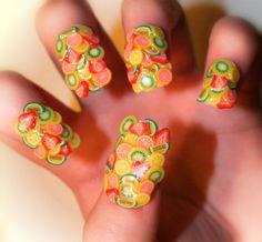 delicious lemon-lime fingernails