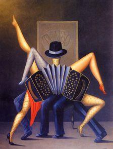 arte argentino, tango y arte, arte latinoamericano