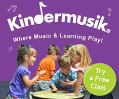 Here's an awesome freebie! Hurry and grab your spot for a FREE Kindermusik class for your kids! Spaces are limited. #Kindermusik #freesmusicclass