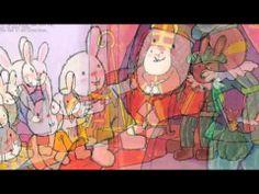 Digitaal prentenboek: Rikki helpt Sinterklaas - Guido van Genechten Bedtime Stories, School Fun, December, Film, Children, Painting, Fictional Characters, Deco, Google