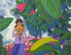 garden-for you / Oil on Canvas, 2013 / 53.0 x 40.9 cm (20.9 x 16.1 inch)