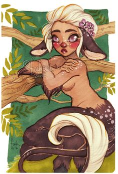fawn by Fukari on DeviantArt Sketch Inspiration, Character Inspiration, Character Art, Character Design, Character Ideas, Fantasy Creatures, Mythical Creatures, Deer Like Animals, Faun Costume