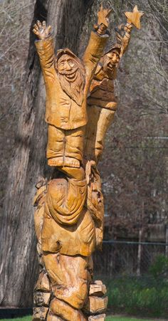 Skiba Family Chronicles: Wood Carvings in Colorado