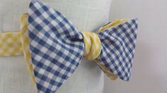 Royal Blue and Gold Bow Tie!