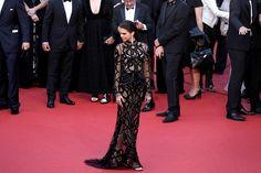 Kendall Jenner aposta em vestido supersexy para Festival de Cannes
