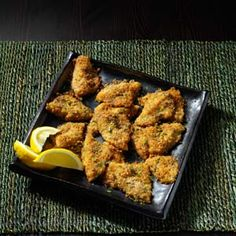 Bluegill (crappie or other panfish) Parmesan