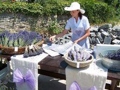 TIHANYI LEVENDULA FESZTIVÁL Lavender Decor, Antique Art, Old And New, Provence, Colours, Table Decorations, Places, Holiday, Decorating Ideas