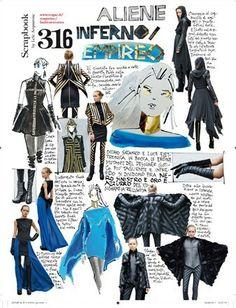 Lele Acquarone, Vogue Italia, October 2011 (n. 734), p. 316