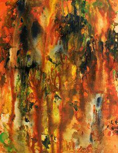 Garden of dreams - Painting by Sylvia Sotuyo. Fine art prints and posters available! #art #garden #season #floral #colorful #painting #wallart #artprint #decor #gifts #modernart