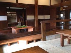 The inside of the farmhouse