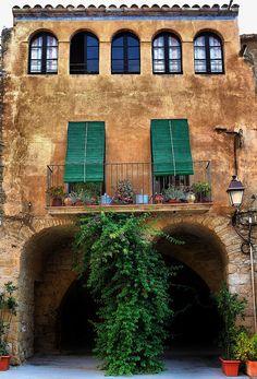 Peratallada, al Baix Empordà. Girona. Catalonia