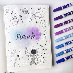 March Bullet Journal Spreads and Plan with Me video! March Bullet Journal Spreads and Plan with Me video!,handmade March Bullet Journal Spreads and Plan with Me video! Bullet Journal School, February Bullet Journal, Bullet Journal Notebook, Bullet Journal Inspiration, Journal Ideas, Creative Journal, Bullet Journal Months, Creative Things, Creative Ideas