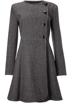 tweed jacket . gray, tailored, and wonderful