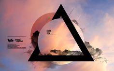 EP Cover - Dark Sun by Diego Macias - Geometric Modern Graphic Design Visual Design, Graphisches Design, Cover Design, Layout Design, Logo Design, Graphic Design Posters, Graphic Design Typography, Graphic Design Inspiration, Creative Inspiration