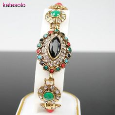 Jewelry & Accessories Strict Olaru 4 Colors Bohemian Synthetic Stone Beaded Bracelet For Women New 2017 Tibet Charm Boho Bracelets Fashion Jewelry Chain & Link Bracelets