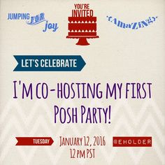 "Thank you for your support! Yay! Please join me as I host my first Posh Party! I will be choosing host picks from posh compliant closets as soon as the theme is announced. The party theme is ""Best in Retail"".  Please tag me with 2 possible host picks from your closet. Thanks! Other"