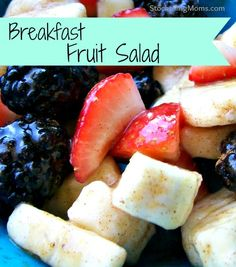 I love this Breakfast Fruit Salad! It is Paleo friendly (in moderation).