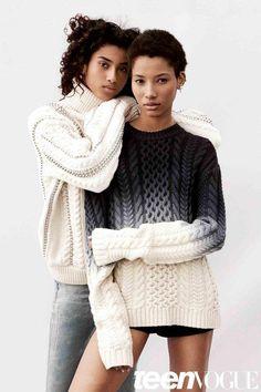 Teen Vogue August 2015 Cover Photos Imaan Hammam, Lineisy Montero, Aya Jones