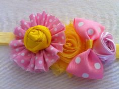 Baby Girl Headband Headband for Girls Newborn by twosupply on Etsy, $12.00