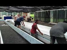 O'Leary Aquaponic Build - YouTube