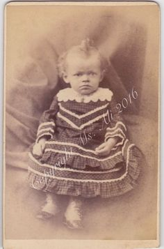 Antique CDV photograph African American by ThatVintagePhotoShop