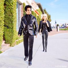 """From Barbie Style on Instagram, a Derek Zoolander doll. Here's the photo's description: barbiestyle""""Barbie, you showed me your town. Now let me show you my walk…"""" -@Zoolander  #barbiezoolander #zoolander2 #barbie #barbiestyle"""