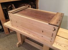Japanese Tool Box – Brian Holcombe Woodworker