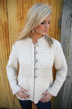 3c6b99b6924ae6 Madison pattern by Kim Dolce. Knit Cardigan PatternCrochet JacketKnit ...