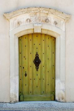 sunny color on the doors just like Provence itself .