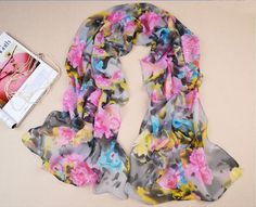floral women scarf