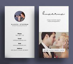 Unique Photography Business Card Design #photography #photographer #businesscard #printdesign #psdtemplate