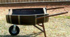 Diferenten solution para un barril fuera de uso. #residuos = #recursos