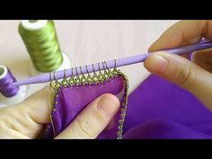 Çok güzel sıralı Şiş oyası yapımı - YouTube Homemade Beauty Products, Pure Products, Saree Kuchu Designs, Saree Tassels, Crochet Curtains, Hairpin Lace, Sunflower Tattoo Design, Needle Lace, Hair Pins