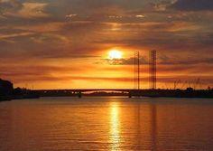 #Tuxpan #Veracruz Ciudad de los bellos atardeceres #VenAVeracruz. Excelente noche para todos.