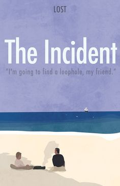 Season 5 - The Incident - LOST Minimalista