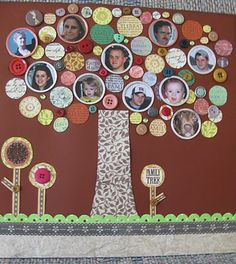 "Can be used to display your class every year, with teacher on top and students all around a ""classroom tree"""