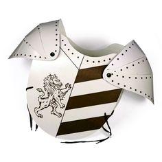Costume Déguisement de chevalier Armure en Papier Carton solide
