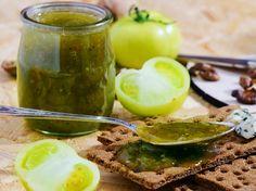 Marmelade aus grünen Tomaten
