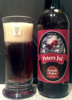 Grauballe Bryghus 7,0 Peters Jul (Strong Ale) 24-03 2016 20.18.30