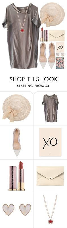 """""""XO"""" by grozdana-v ❤ liked on Polyvore featuring DAY Birger et Mikkelsen, Gianvito Rossi, xO Design, Urban Decay, Louis Vuitton, New Look and Betsey Johnson"""