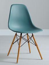 Eames dsw chair, kleur Ocean